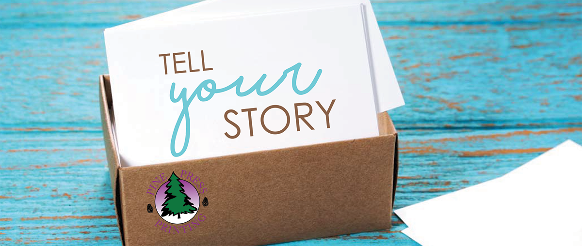 tell your business story with marketing